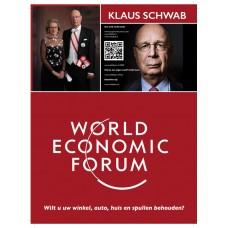 Flyer - World Economic Forum - Wilt u uw winkel, auto, huis en spullen behouden? - set van 15 stuks