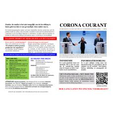 Corona Courant - A5 formaat - Fullcolor - set van 40 stuks - Enveloppenpost