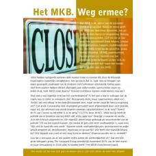 MKB en Horeca Closed Closed - Flyer - set van 50 stuks - brievenbusdoosje