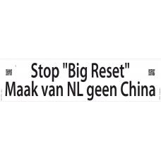 SPANDOEK - Stop 'Big reset' Maak van NL geen China