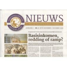 OPN - Onafhankelijke Pers Nederland - Editie november / december 2020 - doos 50 stuks